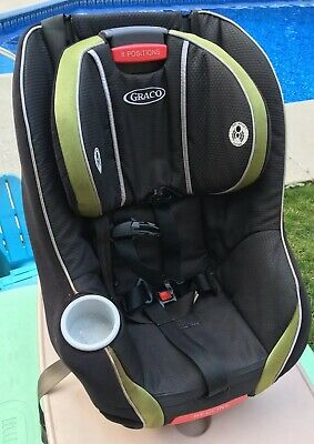 Graco*My Size 70*Adjustable Carseat*Green & Black *Good Shape*Local P/U* Deluxe