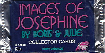 IMAGES OF JOSEPHINE - By Boris & Julie Collector Card Packs (11) #NEW