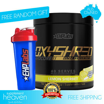 Oxyshred Hardcore Ultra 40 Serve EHP Labs Fat Weight Burner EHPLabs Oxy Shred