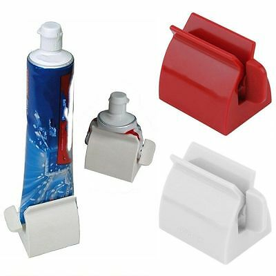 Rolling Tube Tooth Paste Squeezer Toothpaste Dispenser Bathroom Brush Rack HOT R