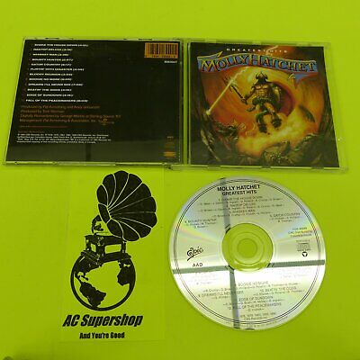 Molly Hatchet greatest hits - CD Compact Disc