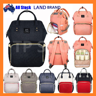 2020 GENUINE LAND Multifunctional Baby Diaper Backpack Changing Bag Nappy Mummy