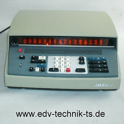 Transistor based calculator IME 86 S with INTERFACE + core +metal case, WORKING!