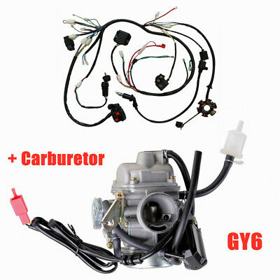 CHINESE 6-PIN CDI Wiring Harness Dual Plug - 5 Wire - 150cc to 250cc on 6 pin connectors harness, 6 pin switch harness, 6 pin cable, 6 pin wiring connector, 6 pin voltage regulator, 6 pin ignition switch, 6 pin transformer, 6 pin power supply, 6 pin throttle body,