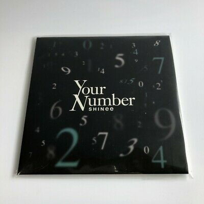 SHINee Your Number Venue limited edition CD Free Shipping