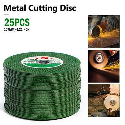 4.21'' Resin Cutting Wheel Grinding Disc Blade For 100mm Angle Grinder 25Pcs