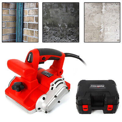 220V Electric Handheld Floor Wall Groove Cutting Machine Brick Wall Chaser 1600W