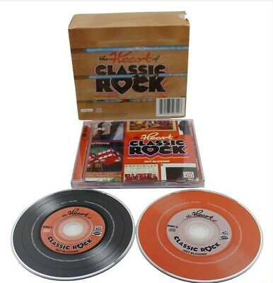 Heart of Classic Rock Box Set Time Life 10 CD 144 Hits USA Seller New Sealed
