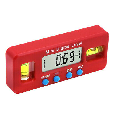 Mini Magnetic Digital Display Inclinometer Level Box Angle Finder Bevel Gauge