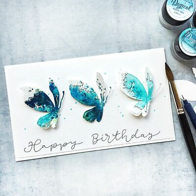 Butterfly Metal Cutting Dies Stencil Scrapbooking Stamp Paper Card DIY Embossing