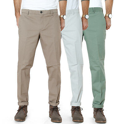 Selected Herren Chino Stretch Stoff Hose | Skinny Math | W33 L32 | UVP*79,90€