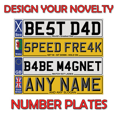 Personalised Number Plate For Doors ,Wall,Windows Doors Show Plates