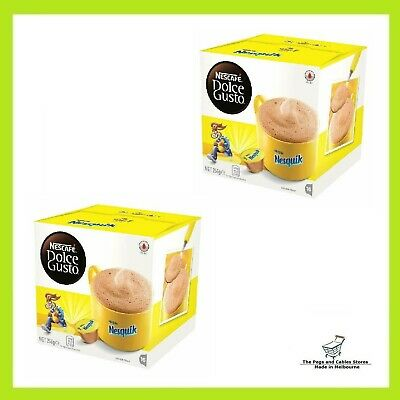 NESCAFE Dolce Gusto Nesquik Chocolate Coffee Pods 16 Capsules
