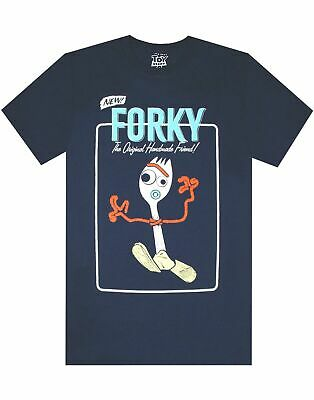 Disney Pixar Toy Story 4 Forky Movie Character Men's Adults T-Shirt