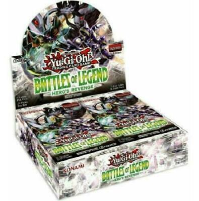 YuGiOh Battles of Legend: Hero's Revenge Booster Box English sealed IN STOCK