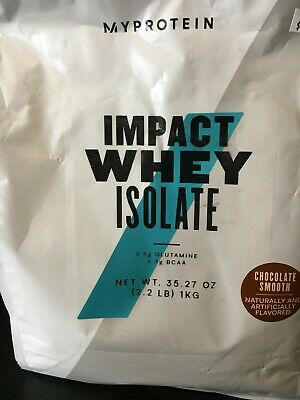 MyProtein Impact Whey ISOLATE 2.2lbs - Chocolate Smooth