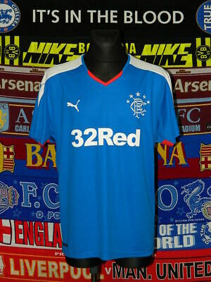 5/5 Rangers adults XXL 2015 home football shirt jersey trikot soccer