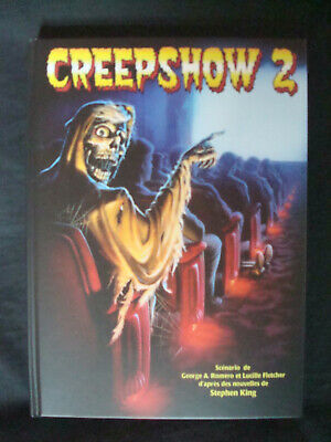 CREEPSHOW 2 1987 Blu Ray + DVD Digibook Livret 24 pages Master HD 2019 NEUF