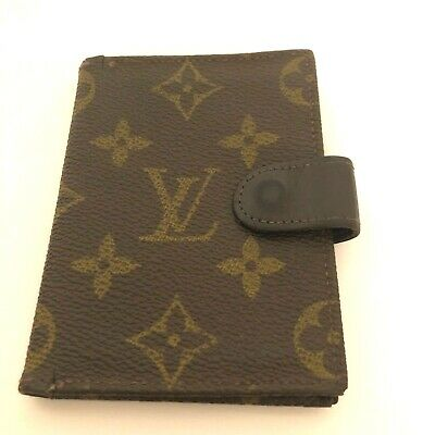 VTG Authenticated Saks 5th Avenue Louis Vuitton Billfold Monogramed Card Wallet
