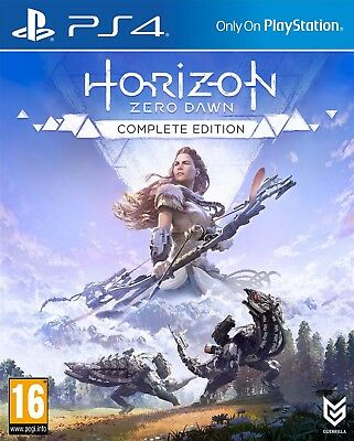 Horizon Dawn Zero: The Complete Edition - Ps4 - New & Sealed - In Stock Now!!!