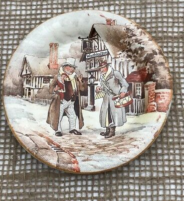 Newhall Short & Codlin Old Curiosity Shop Pin Dish 1930 Charles Dickens Restored