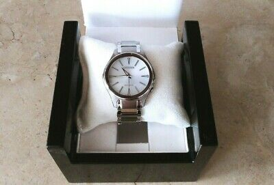 2a5d3ef0cc3fc3 Citizen Eco Drive Women Watch Modena Stainless Steel Em0595-54A White Dial  $275