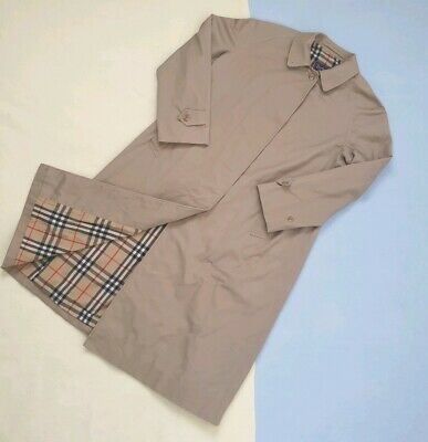 Vintage Burberry Mac/Trench Coat 16 Long