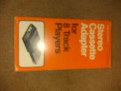 Radio Shack Realistic Stereo Cassette Adapter for 8-Track Players