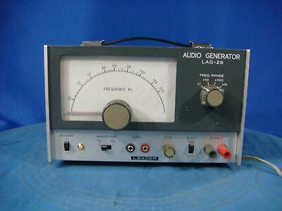 Leader LAG-26 20 Hz-200 kHz Audio Generator