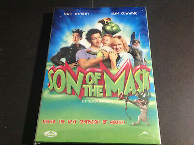 Son Of The Mask (Dvd)  Jamie Kennedy  Alan Cumming
