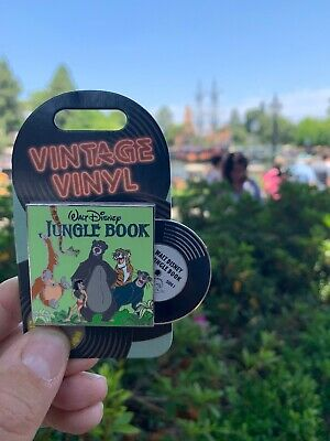 Disney Pin of the Month Vintage Vinyl Jungle Book LE 3000 Preorder June 2019