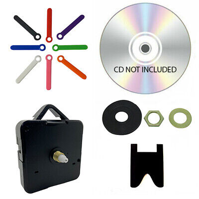 New DVD/CD Clock Making Kit - Design Your Own cd clock School Projects Craft