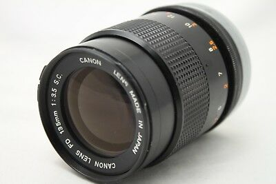Canon FD 135mm 1:3.5 S.C. Lens *As Is* #A015d