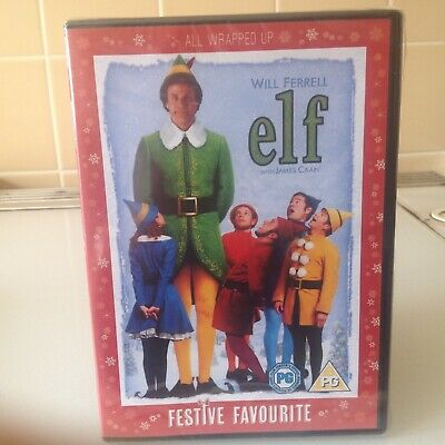Elf  Festive Favourite  (Dvd2005) New & Sealed