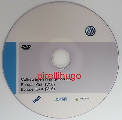 VW RNS510 East Europe v16 2019 Volkswagen RNS 510 NEWEST MAPS