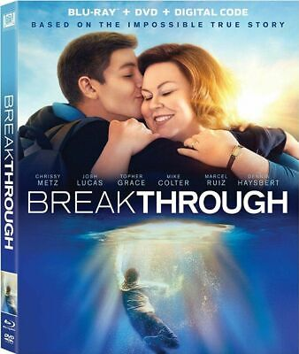 Breakthrough BLU-RAY ONLY with CASE//SLIP COVER (NO DVD/DIGITAL)