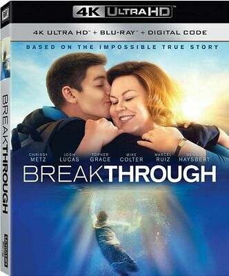 Breakthrough - 4K ONLY with CASE/SLIP COVER (NO Blu Ray or/DIGITAL) Ships Now