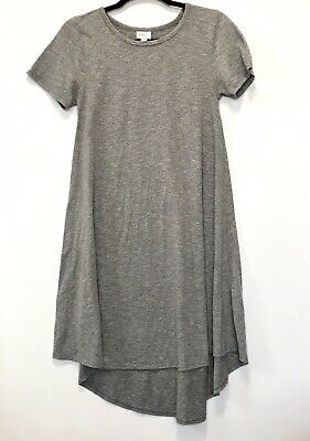 ca4c8d00e30f3 LULAROE POCKET DRESS - Carly - Gray - Size Xs Euc - $9.99 | PicClick