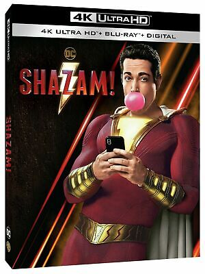 SHAZAM! (2019/4K-UHD/Artwok/Case ONLY) NO BLU RAY OR DIGITAL Ships Now