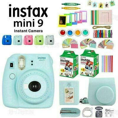 Fujifilm Instax Mini 9 Camera+40 Sheets Film+Case+Album+Filter+Lens+Gift Set