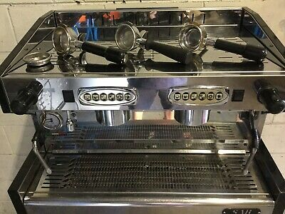 SAB HIGH 2 Group Barista Espresso Commercial Coffee Machine Refurbished
