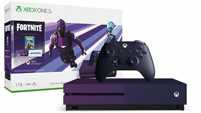Xbox One S 1TB Fortnite Limited Edition Bundle