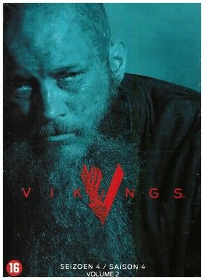 Vikings - Season Four Part Two DVD Television Set: Includes French Version (DVD)