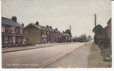 LONDON COLNEY Nr St Albans The Parade Shops PPC Used 1933.