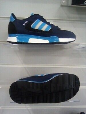 adidas Originals ZX 850 K Junior Navy White M19734 Trainers Size UK 3.5 - 5.5