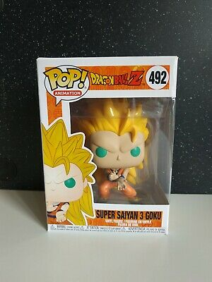 Super Saiyan 3 Goku Dragon Ball Z-Funko Pop-ORIGINAL-Exclusive-VER FOTOS