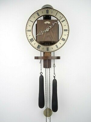 Dutch Vintage Antique Warmink WUBA Wall Clock (Zaanse Hermle Junghans Era)