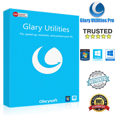 Glary Utilities Pro 5 ⭐Free Updates⭐ 🔑3 PC's Lifetime Keys🔑 ♕Fast eDelivery!📩