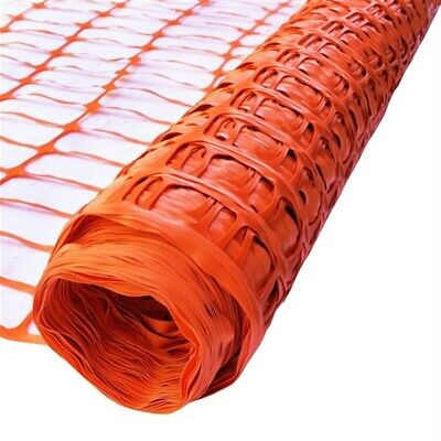 42cm x 50m Roll Plastic Mesh Barrier Fence Safety Garden Netting Fencing
