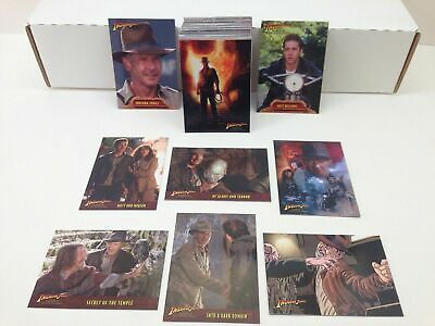 Indiana Jones The Kingdom of the Crystal Skull - Complete Card Set (90) - NM
